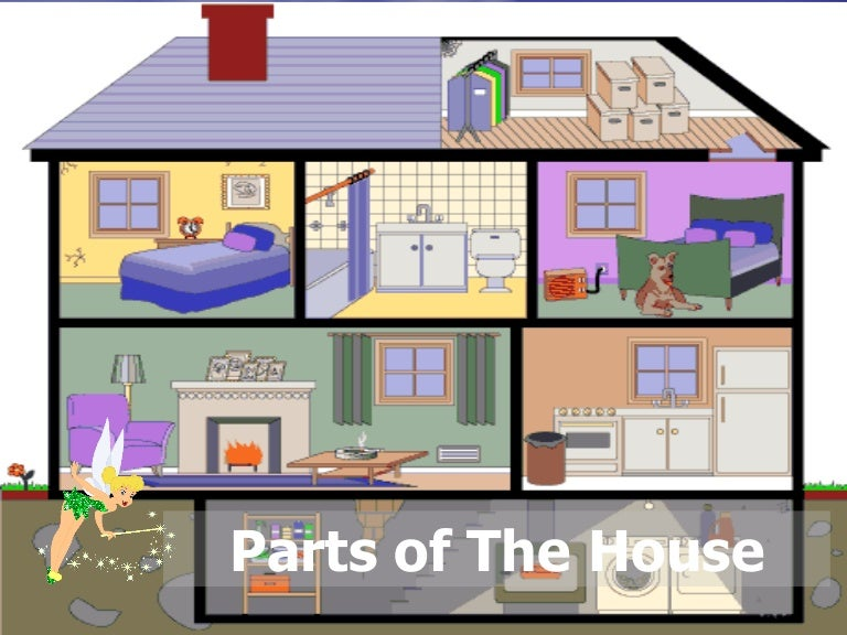Parts of the house - Nombre de pieces maison impots ...