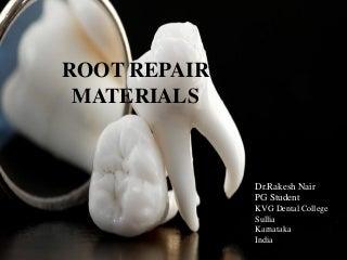 Root repair materials