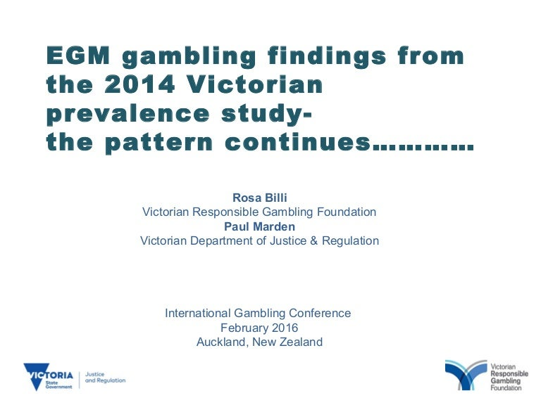 Prevalence problem gambling victoria cheating gambling devices