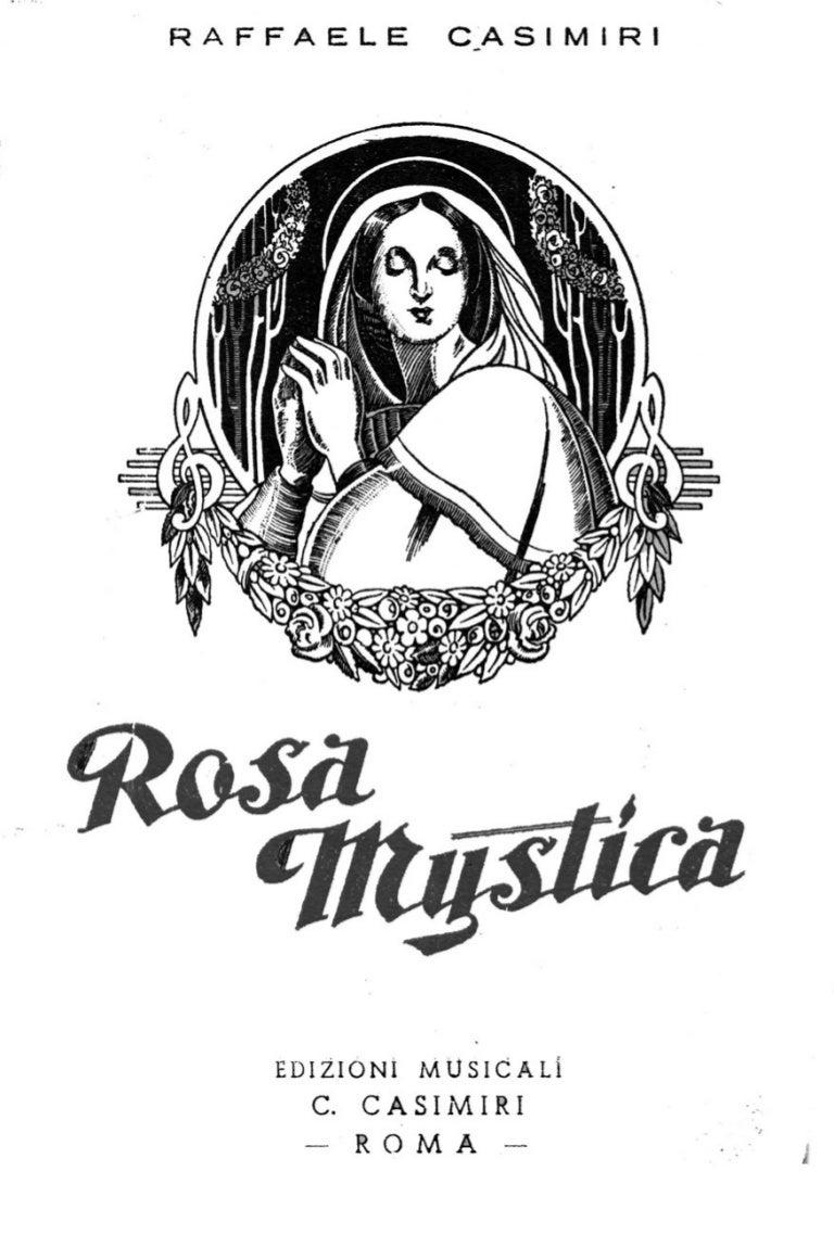 Rosa mystica raffaele casimiri