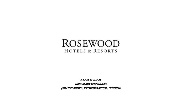 rosewood hotels resorts branding to increase customer profitability and lifetime value Please find below the full details of the product you clicked a link to view rosewood hotels & resorts: branding to increase customer profitability and lifetime value teaching note supplement software.