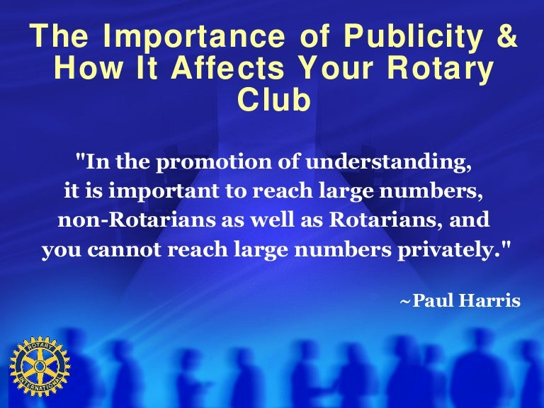 what is the rotary club about