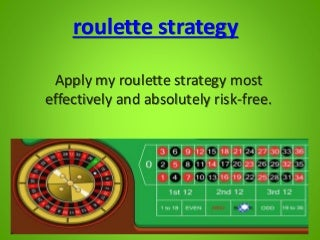 roulette zone strategy