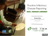 Routine infectious disease reporting using SMS at Kean Svay operational district-Cambodia