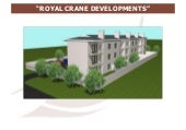 Royal crane development land for sale