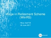 Wage in Retirement