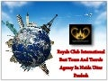 Royals Club International Best Tour Organizer For Worldwide