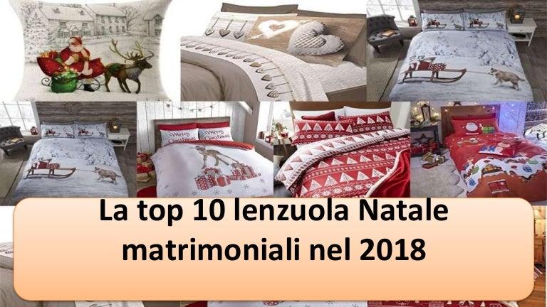 Lenzuola Matrimoniali Di Natale.La Top 10 Lenzuola Natale Matrimoniali Nel 2018