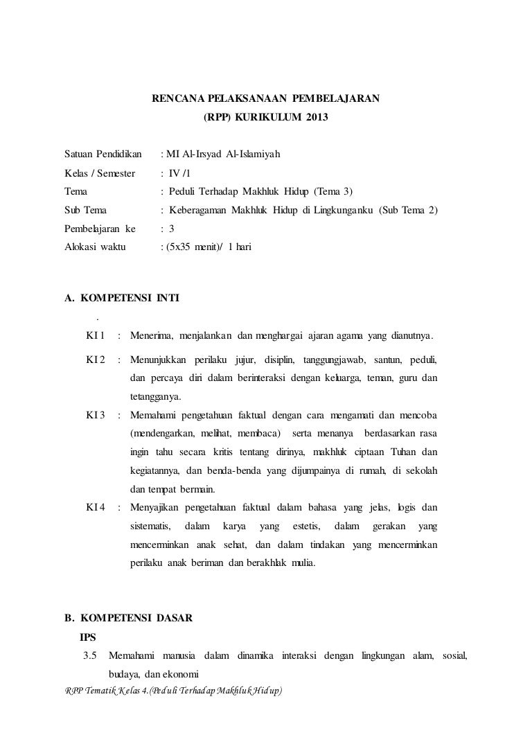 rpp kelas 5 tema 3 subtema 2 pembelajaran 1-6