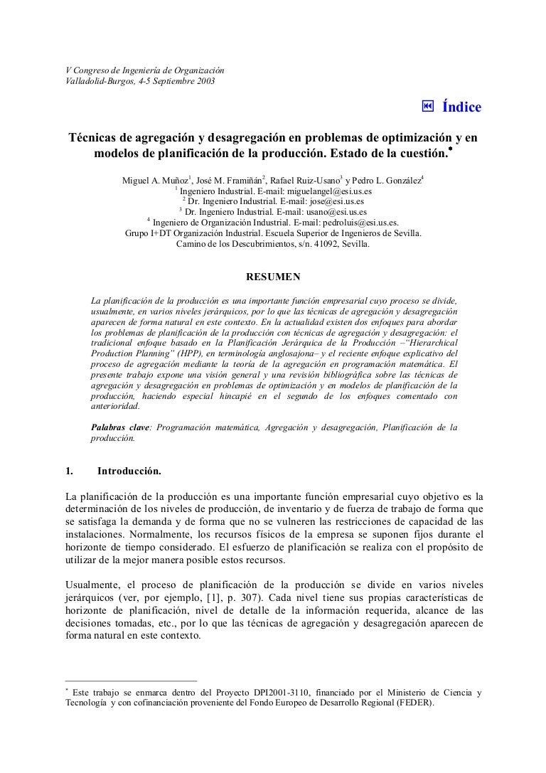 3.agregacion y desagregacion