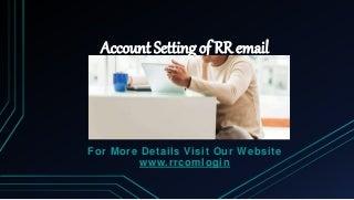 Rr mail login toll free (1844 305-0086)