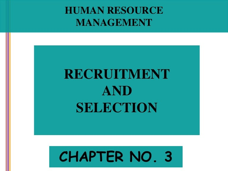 nature and importance of employee selection