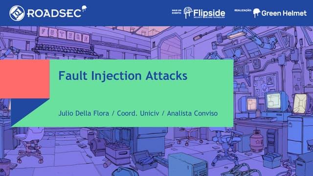 hardware fault injection attacks com enfase em ultrassom