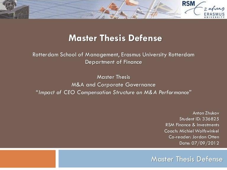 Dissertation proposal defenese