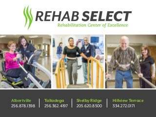 Rehab Select Rehabilitation Centers
