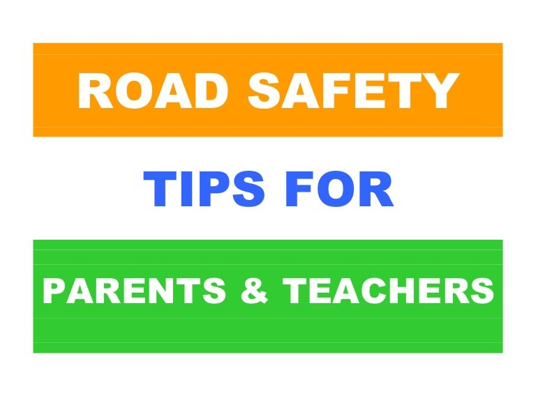 paragraph on road safety