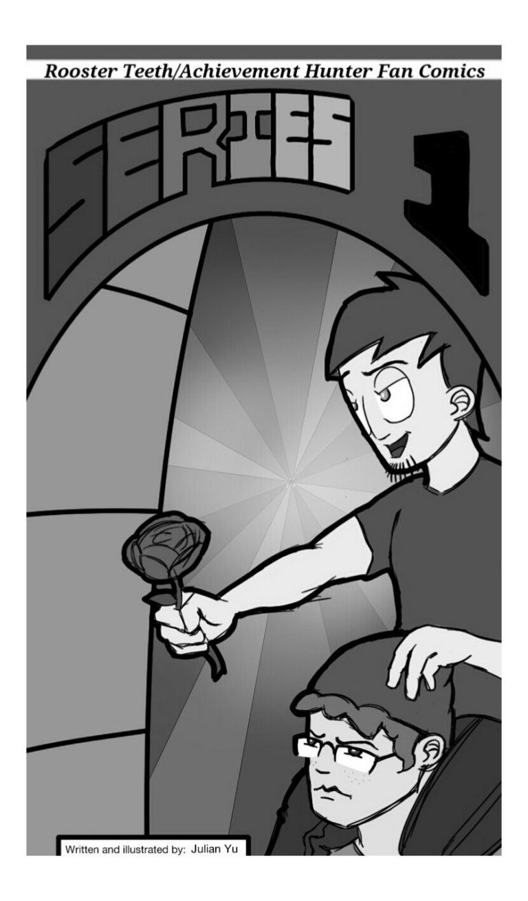 Rooster Teeth Achievement Hunter Fan Comics Series 1