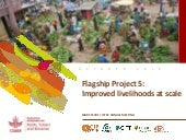 Improved livelihoods at scale - Flagship Project 5 overview, ISTRC 2018