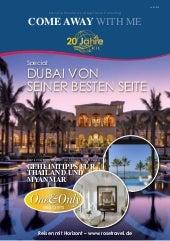 Reisenews – Rose Travel Consulting - Dubai von seiner besten Seite