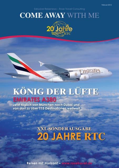 Exklusive Reisenews – Rose Travel Consulting - Februar 2012