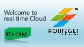 World's cheapest CRM on Demand - RTe CRM is available now @ $6.99/User/Month only