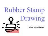 Rubber Stamp Drawing_M Barry
