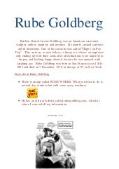 Rube goldberg harry