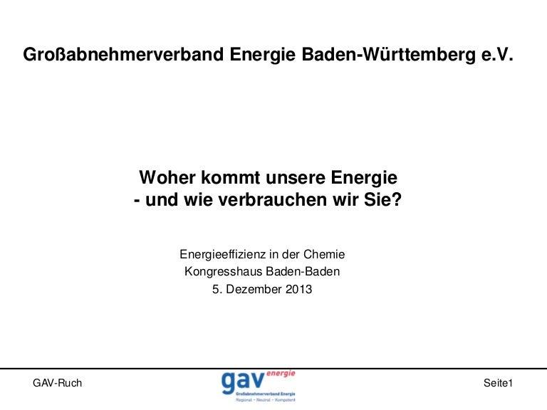 """Vortrag """"Woher kommt unsere Energie - und wie verbrauchen wir sie?"""" von Wolfgang Ruch."""