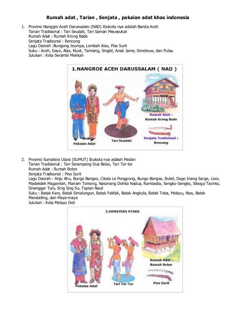 63 Gambar Rumah Adat Dan Tarian Aceh HD