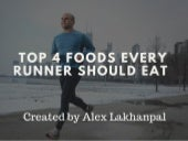 Top 4 Foods Every Runner Should Eat