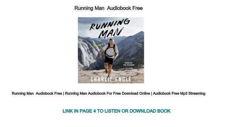 Running Man Audiobook Free