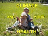 CLIMATE AND YOUR HEALTH- Rural Version
