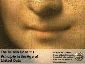 The Dublin Core 1:1 Principle in the Age of Linked Data