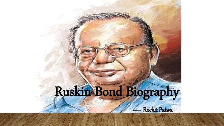 ruskin bond biography ppt