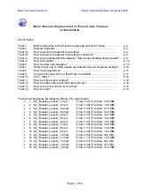 Basic Russian Language Course