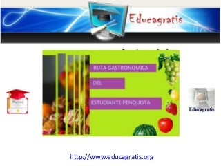 Ruta gastronomica del estudiante penquista