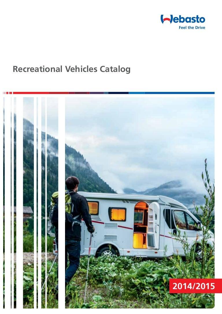 Webasto Recreational Vehicle Camping Solutions Catalog