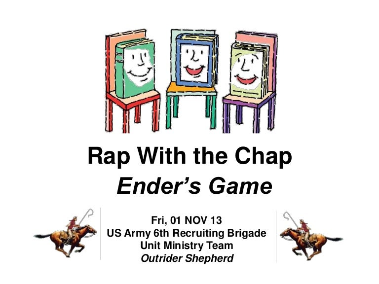 Rap with the chap nov13 enders game fandeluxe Image collections