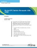 Rx to-OTC Switch Forecasts 2010 US - Brochure
