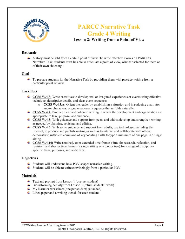 lesson plans for narrative writing Steps for narrative writing & reading core skills lesson plan preparation - beforehand, the teacher cuts out the pictures of characters, settings and plot/problems from the narrative writing & reading core skills lesson plan handout and places the pictures inside the top hat.