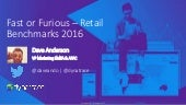 Fast or Furious - Global Retail Benchmarks Webinar
