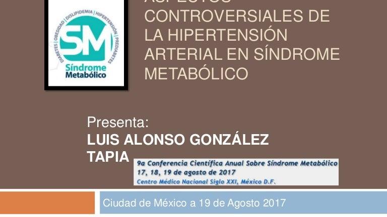 Hipertensión en el síndrome metabólico