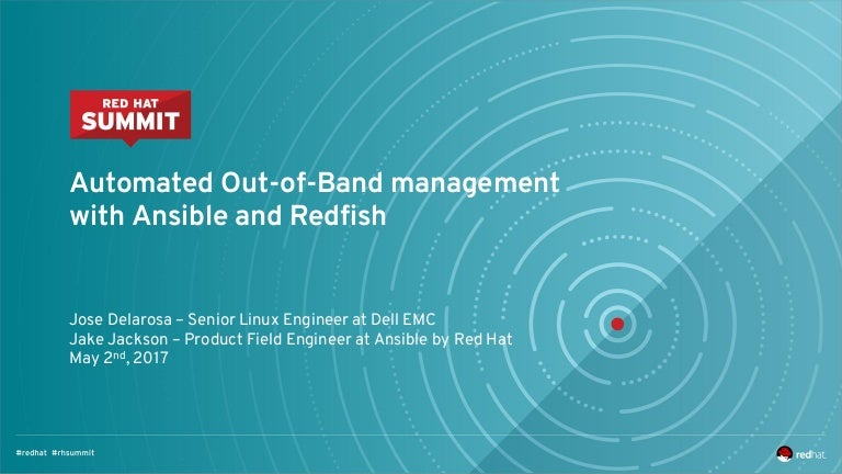 Automated Out-of-Band management with Ansible and Redfish