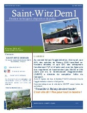 SAINT-WITZ DEMAIN #7 - Transports @ St-wITZ