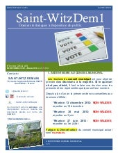 SAINT-WITZ DEMAIN #8 ELECTIONS 23/30 Mars014
