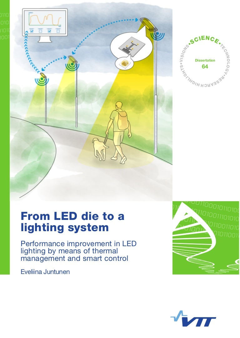 From Led Die To A Lighting System Performance Improvement In Lig Ambient Light Controlled Circuit 50 Watt Lamp Wiring