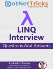 Linq Interview Questions and Answers by Shailendra Chauhan