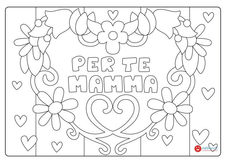 Festa della mamma disegni da colorare sabbiarelli for Disegni angeli da colorare gratis