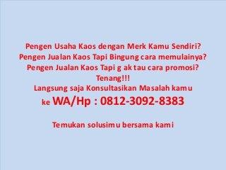 Kaos Game Repack - WA/Hp 0812-3092-8383 - Evanka