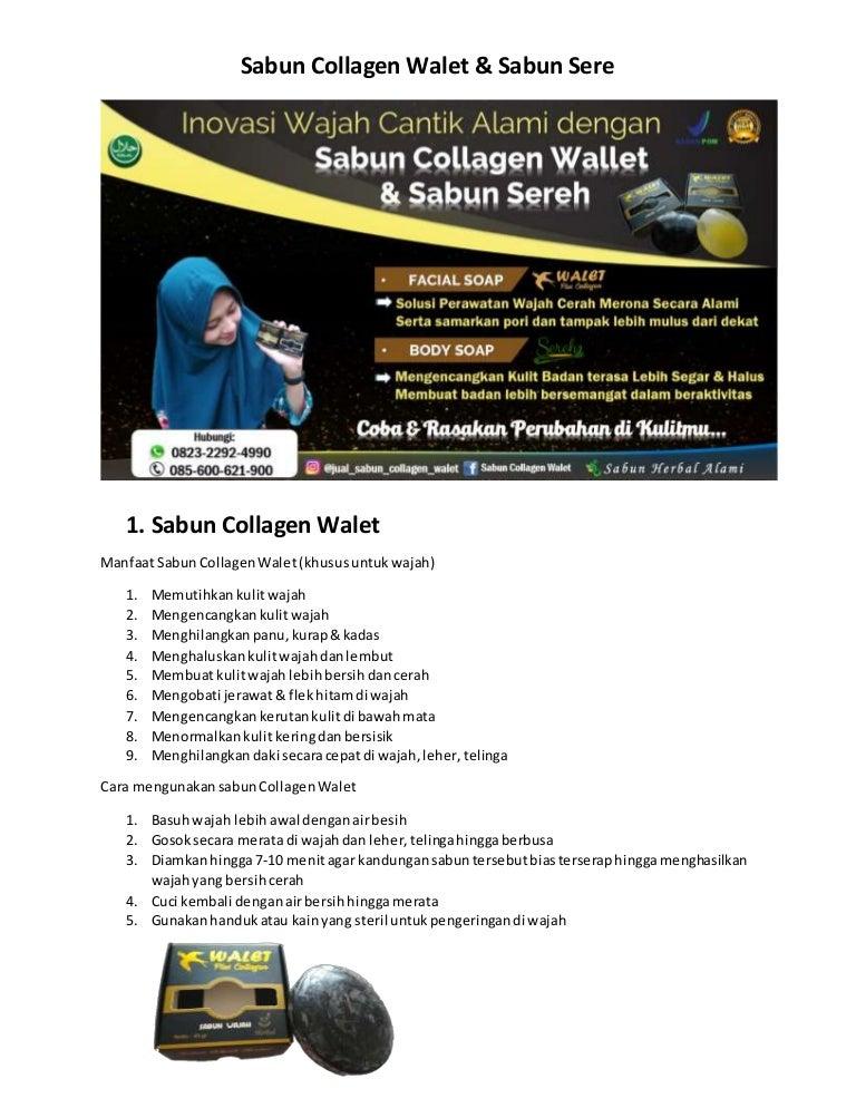 Promo O823 2292 499o Sabun Collagen The Face Jual Sabun Collagen Wal